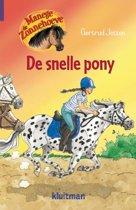 Manege de Zonnehoeve 11 - De snelle pony