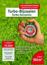 WOLF-Garten turbo-gazon herstel LR 100 - voor 100m2 - snelle ontwikkeling - betere groei - minder maaiafval - dik en veerkrachtig