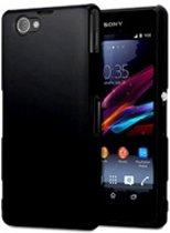 Sony Xperia Z3 Compact Siliconen Hoesje Case Zwart