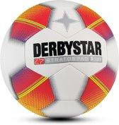Derbystar VoetbalKinderen - wit/rood/geel maat 4