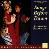 Indonesia Vol. 1: Songs Before Dawn