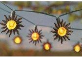 Feestverlichting met 16 LED Zonnetjes op zonne-energie