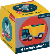 Mudpuppy |  Mini Memory Spel  - Transportation