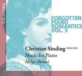 Forgotten Piano Romantics Vol. 3 Pi