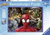 Ravensburger puzzel Spiderman - legpuzzel - 100 stukjes