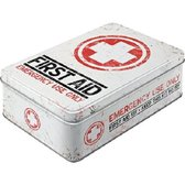 Tin box plat - First aid