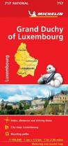 Grand Duchy of Luxembourg - Michelin National Map 717