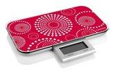 Zak!Designs Slim Keukenweegschaal - Rood - Rechthoekig