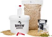 Brew Monkey Bierbrouwpakket - Basis Wit  - Zelf bier brouwen - Bier brouwen startpakket