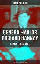 GENERAL-MAJOR RICHARD HANNAY Complete Series: 7 Espionage & Mystery Classics