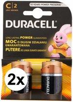Duracell batterijen CR/LR14 4 stuks