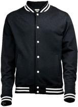 College Jacket, kleur Jet Black, Maat XL