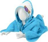 A&R Babiezz™ Babycape 100% Katoen Zeeblauw/Wit