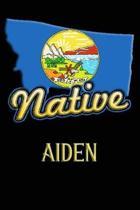 Montana Native Aiden