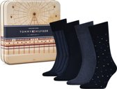 Tommy Hilfiger Heren Sokken Giftbox - 4-Pack - Black - Maat 39-42