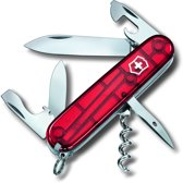 Victorinox Spartan Zakmes 12 Functies - Transparant Rood