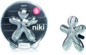 Mr&Mrs Fragrance Niki Luchtverfrisser - Voor Auto - Met Refill Pure