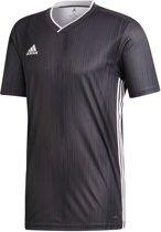 adidas Sportshirt - Maat 116  - Unisex - grijs/wit