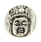 Bali Clicks Singaraja Button Silver