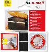 Fix-o-moll klittenband 150mm/20mm z