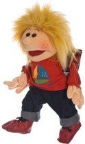 Living Puppets Handpop Kleine Lasse met schooltas - 45 cm