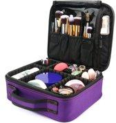 Beautycase Beauty Case om mee te nemen - Compact 25 x 23 x 9 cm Make-upset Doos - Opberg Etui / Cosmetica Organizer Tas Case