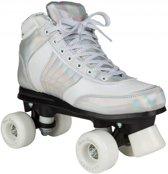 Rookie Rollerskates Forever Disco Junior Zilver/wit Maat 39,5