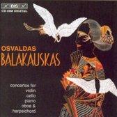 Concertos For Violin, Cel