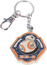 STAR WARS 7 - Metal Keychain - BB-8 Orange Edge