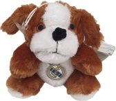 Real Madrid - Pluche Hond - 15cm