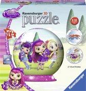 Ravensburger puzzleball Little Charmers - 3D Puzzel - 72 stukjes