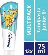 Prodent Pokemon Tandpasta 5 - 12jr - 12 x 75 ml - voordeelverpakking - 3 kleur varianten beschikbaar