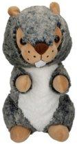 Eddy Toys Knuffel Otter Grijs/groen 27 Cm