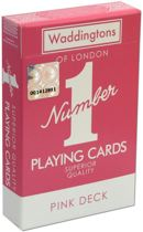 Playing Cards Pink