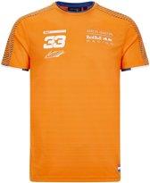 Max Verstappen T-shirt Oranje 2020 XL