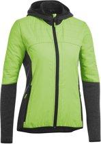 Gonso Perry Thermo Active Jacket Dames Fietsjack - Maat S  - Vrouwen - groen/zwart