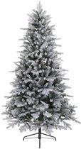 Everlands Vermont Spruce Frosted kunstkerstboom 180 cm - zonder verlichting