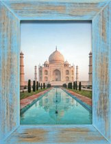 Henzo India Fotolijst - Fotomaat 20x30 cm Blauw
