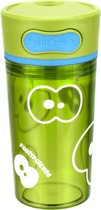Fruitfriends Drinkbeker Push - Kunststof - 300 ml - Lime Groen