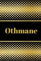 Othmane: Personalized Journal to write in Positive Thoughts, Work Ideas, Business for Men, Entrepreneurs gifts holidays