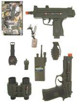 Commando-set 8 delig met geluid