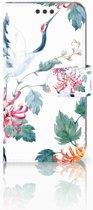 Sony Xperia XA | XA Dual Bookcase Bird Flowers