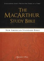 NASB, The MacArthur Study Bible, Hardcover