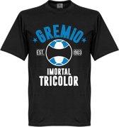 Gremio Established T-Shirt - Zwart - XXXL