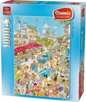 Comic 1000 stukjes Parijs