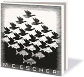 Kaartenmapje Sky and Water - M.C. Escher