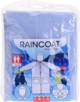 Free And Easy Regenjas Unisex Maat M Transparant