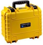 B&W 3000/Y/GOPRO4 cameratassen en rugzakken Hard case Geel