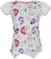 My Little Pony T-shirt-met-korte-mouw-grijs - Maat 116