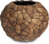 Plantinum Bosco Round Bowl Cococut